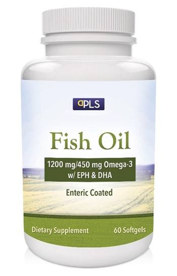 Private label enteric coated fish oil 1200 mg 360 mg omega 3 for Enteric coated fish oil